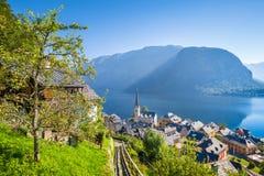 Free Hallstatt Lakeside Town In Summer, Salzkammergut, Austria Royalty Free Stock Images - 146505479