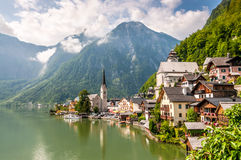 Hallstatt Landscape Royalty Free Stock Photos
