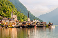 Hallstatt Landscape Royalty Free Stock Photo