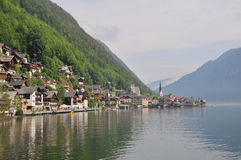 Hallstatt in the Morning Royalty Free Stock Photography