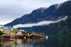 Hallstatt, the most beautiful lake town in the world, Austria. Hallstatt, the most beautiful lake town in the world royalty free stock photos