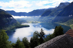 Hallstatt, the most beautiful lake town in the world, Austria. Hallstatt, the most beautiful lake town in the world royalty free stock images