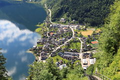 Hallstatt, the most beautiful lake town in the world, Austria. Hallstatt, the most beautiful lake town in the world royalty free stock image