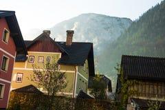 Hallstatt mountain village Royalty Free Stock Photo