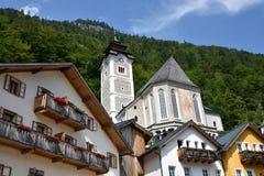 Hallstatt, Oostenrijk Royalty-vrije Stock Afbeelding