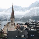 Hallstatt Oostenrijk Royalty-vrije Stock Afbeeldingen