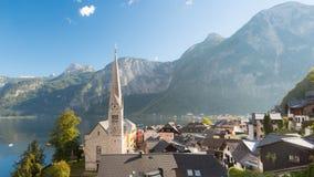 Hallstatt in Oostenrijk Royalty-vrije Stock Afbeeldingen