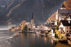 Hallstatt, Oostenrijk Stock Afbeeldingen