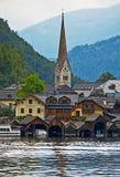 Hallstatt, Oostenrijk Stock Afbeelding