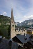 Hallstatt, Oostenrijk royalty-vrije stock afbeeldingen