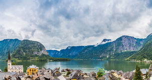 Hallstatt Panorama Stock Photo