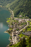 Hallstatt panorama Stock Images