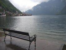 Hallstatt romântico, Áustria Imagens de Stock