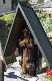 HALLSTATT, SALZKAMMERGUT/AUSTRIA - 14 ΣΕΠΤΕΜΒΡΊΟΥ: Καλά κρατημένο Gra Στοκ Φωτογραφία