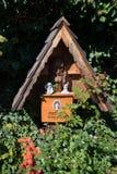 HALLSTATT, SALZKAMMERGUT/AUSTRIA - 14 ΣΕΠΤΕΜΒΡΊΟΥ: Καλά κρατημένο Gra Στοκ εικόνα με δικαίωμα ελεύθερης χρήσης