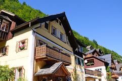 Hallstatt, Salzkammergut, Austria Immagini Stock Libere da Diritti