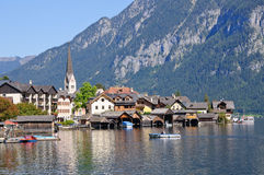 Hallstatt, Salzkammergut, Austria Royalty Free Stock Photos