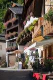 HALLSTATT, SALZKAMMERGUT/AUSTRIA - 14 DE SETEMBRO: Pin colorido Fotos de Stock Royalty Free
