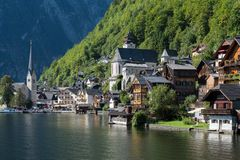 Free HALLSTATT,  SALZKAMMERGUT/AUSTRIA - SEPTEMBER 14 : View Of Halls Stock Photos - 101163563