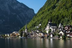 Free HALLSTATT,  SALZKAMMERGUT/AUSTRIA - SEPTEMBER 14 : View Of Halls Royalty Free Stock Photo - 101164645