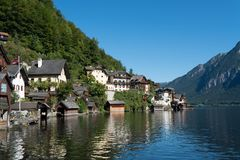 Free HALLSTATT,  SALZKAMMERGUT/AUSTRIA - SEPTEMBER 14 : View Of Halls Royalty Free Stock Images - 101167219