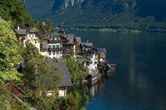 Free HALLSTATT,  SALZKAMMERGUT/AUSTRIA - SEPTEMBER 14 : View Of Halls Stock Images - 101169314