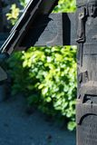 HALLSTATT, SALZKAMMERGUT/AUSTRIA - 14 SEPTEMBRE : Gra soigné photo libre de droits