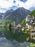 Hallstatt in Salzkammergut Royalty Free Stock Photo