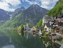 Hallstatt in Salzkammergut Royalty Free Stock Image