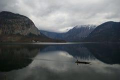Hallstatt sjö Royaltyfri Fotografi