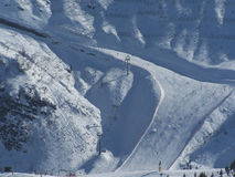 Hallstatt - SKI. Surroundings of Hallstatt where is the bigest salt mine in the world Stock Images