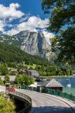 Hallstatt. Small historical city in Alps mountains Austria Stock Photography
