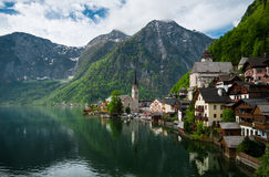 Hallstatt town, Austria Royalty Free Stock Images