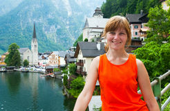 Hallstatt view (Austria) Royalty Free Stock Images