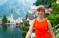 Hallstatt view (Austria) Royalty Free Stock Images