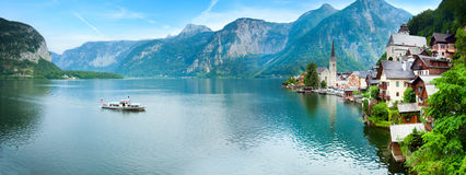 Hallstatt view (Austria) Stock Photography