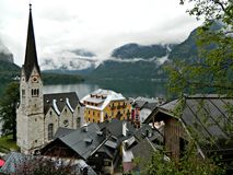 Hallstatt view Stock Photography