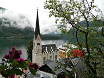 Hallstatt view Royalty Free Stock Photos