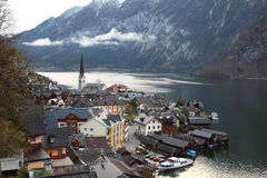 Hallstatt village Royalty Free Stock Photos