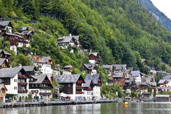 Hallstatt village in austria Stock Image