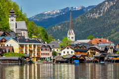 Hallstatt village, Austria Royalty Free Stock Photography