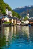 Hallstatt village, Austria Stock Image