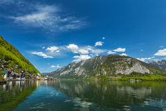 Hallstatt village, Austria Royalty Free Stock Images