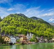 Hallstatt village, Austria Stock Photo