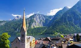Hallstatt village, Austria Royalty Free Stock Image