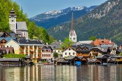 Hallstatt village, Austria Royalty Free Stock Photography