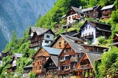 Hallstatt village Austria Stock Photo