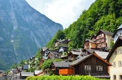 Hallstatt village Austria Royalty Free Stock Images