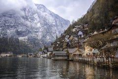 Hallstatt village in Austria Royalty Free Stock Images