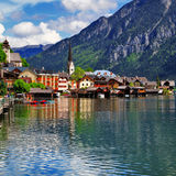Hallstatt village Royalty Free Stock Photo